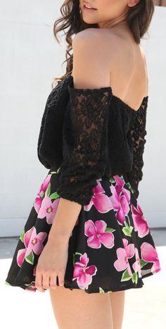 lace + floral