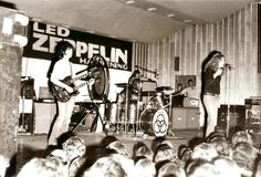 Rare early pic of Led Zeppelin