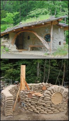 Here's another inspiring earthbag construction for fans of natural homes out there!