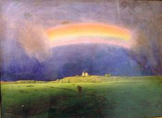 Архип Иванович Куинджи (1841-1910) Радуга. между 1898 и 1905 Бердянский художественный музей имени И.И. Бродского