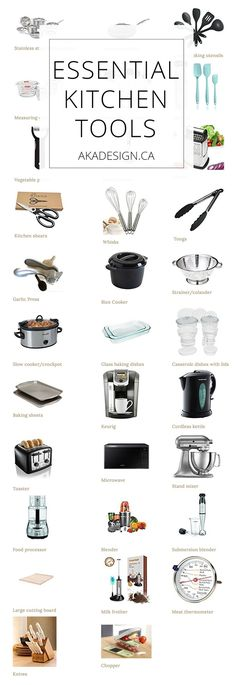 Essential Kitchen Tools - Tools for a Well-Appointed Kitchen - Farmhouse Style - Kitchen Tools Must Have Kitchen Gadgets, Kitchen Tools And Gadgets, Kitchen Supplies, Kitchen Ideas, Lazy Susan, Kitchen Appliance Storage, Kitchen Appliances, Food Storage, Tank Container
