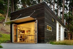 Weekend Cabin: San Juan Island, Washington