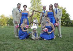 Unique Bridal Party Picture