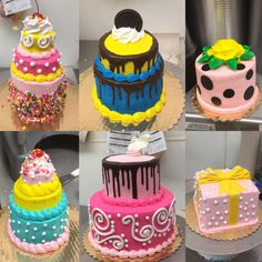 Bright Colors Alma Montes Safeway Cake Ideas