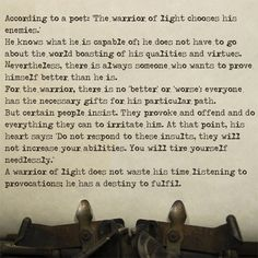 Top 25 warrior of the light quotes (of 61) | a-z quotes.