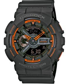 Grey G-Shock Watches Very cool these G Shocks,