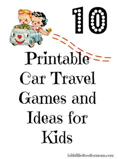march winner of preschool scavenger hunt 10 printable car travel games and ideas for
