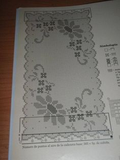 Heklanje Je Razonoda I Zabava 2573 – Heklanje Cross Stitch Geometric, Cross Stitch Borders, Cross Stitch Rose, Cross Stitch Designs, Crochet Doily Diagram, Filet Crochet Charts, Crochet Borders, Crochet Dollies, Crochet Art