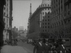 Diagonal Norte en la década de 1920. Diagonal, Vintage Architecture, Street View, Norte, Cities, Pictures