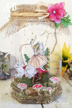 (I) (L)ove (D)oing (A)ll Things Crafty!: Fairy Wishes Terrarium
