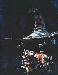 martinlkennedy:  The Elluvian Gift by John Berkey 1974 (From his anthology John Berkey- Painted Space, published 1991)