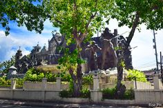 Heritage of Cebu Monument front