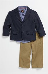 """Sovereign Code """"United Blazer"""" - Shirt and Pants Set - Nordstrom (Infant) .. omg so precious!"""