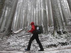 These 2 Brave Souls Are Hiking From Canada to Mexico In The Snow