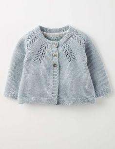 Knitwear Cosy Baby Cardigan 71528 Knitted Cardigans at Boden Baby Cardigan Knitting Pattern, Baby Knitting Patterns, Baby Patterns, Crochet Patterns, Knit Baby Sweaters, Knitted Baby Clothes, Baby Knits, Cardigan Bebe, Knit Cardigan