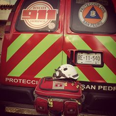 Protección Civil San Pedro, Nuevo León OMNI Pro Fire de Meret y Casco EOM con goggles XTO Team de ESS Eye Pro. EMS México     Equipando a los Profesionales