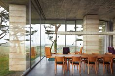 Peek inside Peter Zumthor's 'Secular Retreat' - The Spaces Devon, Italian Furniture Design, Timber Table, Interior And Exterior, Interior Design, Light Architecture, Peter Zumthor Architecture, Ancient Architecture, Sustainable Architecture