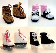Crochet baby Feet Accessories