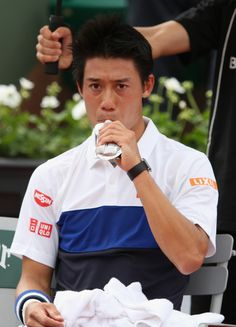Kei Nishikori Photos - 2015 French Open - Day One - Zimbio