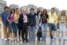 Foto: Europa Press. El ACTOR PABLO RIVERO, las actrices Irene Visedo,y Paula Echevarría, junto al director Nacho Carballo, en la presentación del cortometraje en Gijón (2005)