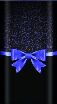 Black and blue bow Phone Background Wallpaper, Flowery Wallpaper, Pretty Phone Wallpaper, Heart Wallpaper, Cellphone Wallpaper, Pattern Wallpaper, Wallpaper Backgrounds, Iphone Wallpaper, Black And Blue Wallpaper