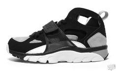 Trainer Huarache Black/Medium Grey-White