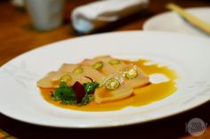[HK] Nobu InterContinental Hong Kong - Yellowtail sashimi with Jalapeno