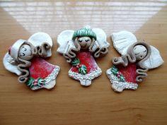 Masa solna, aniołki świąteczne Christmas Ornaments, Holiday Decor, Diy, Home Decor, Decoration Home, Bricolage, Room Decor, Christmas Jewelry, Diys