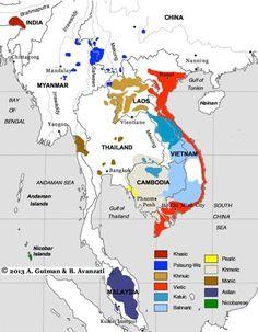 austroasiatic languages, perhaps the most ancient of SEA asia