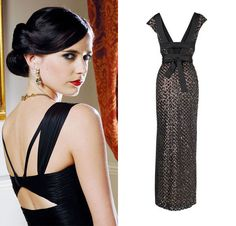 Bond Girl Style - Bond Girl Vesper Lynd in Casino Royale, 2006. Get the look with the Collection 8 Bloomsbury Dress by Phase Eight. Bond girl dress