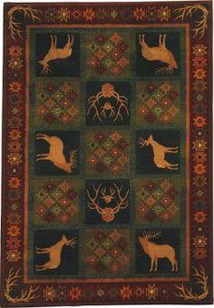 "Cabela's: Grand River Lodge™ Area Rugs – 7'10"" x 10'6"""