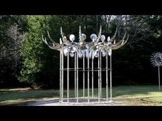 Dizzying New Wind-Powered Kinetic Sculptures by Anthony Howe   Colossal