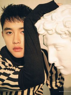 do kyungsoo Singles Magazine February 2019 Kyungsoo, Chanyeol, Kaisoo, Scandal, D O Exo, Exo Korea, Exo 2014, Xiuchen, Kim Jongdae