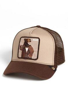 Main Image - Goorin Brothers 'Animal Farm - Lone Star Bear' Trucker Hat