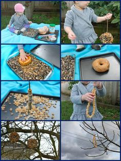 Try these 90 DIY bird feeder ideas that are easy to make and brings beautiful birds to visit your garden regularly. These DIY bird feeders are very unique and cost effective! Bird Feeders For Kids To Make, Bird Nesting Box, Bird Feeding Station, Americana Crafts, Crafts For Kids, Diy Crafts, Diy Bird Feeder, Wie Macht Man, How To Attract Birds