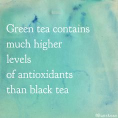 #facts #words #greentea #teasquares
