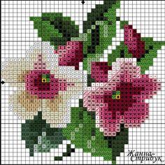 #crossstitch #kanaviçe #çiçek