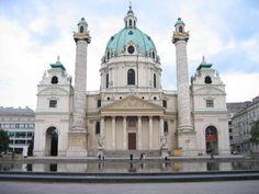 Saint Charles Borromeo Church in Vienna