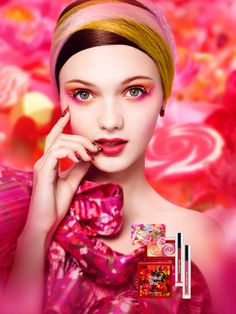 The Mika for Shu Collection = Makeup in Technicolor