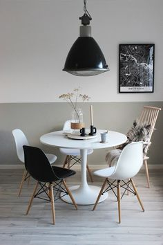 Huisjeaandehaven, ikea, docksta, myhome, interiorstyling, literalstreetart, industrial, scandinavian, zwartwit, wonen, interieur
