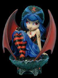 Vampires - Gothic Vampire Fairy Collection by Jasmine Becket-Griffith - Vampire Art - Countess Drusilla