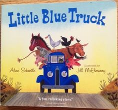 """Getting """"Speechie"""" with a Good Book! This weeks featured book companion is for the book Little Blue Truck.  So cute!"""