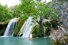 The Arbuckle Mountains of south-central Oklahoma harbor an outdoor paradise featuring a rolling landscape dotted with waterfalls, lakes and hiking trails. Explore three Arbuckle treasures - Turner Falls Park, Chickasaw National Recreation Area and Air Donkey Zipline Adventures.
