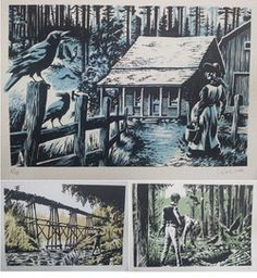 Erik Kriek - diversen - 3 Serigraphs - limited edition 2016