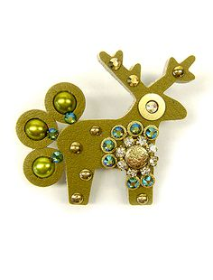 Malá brož HANOIKA - Jelení šperky
