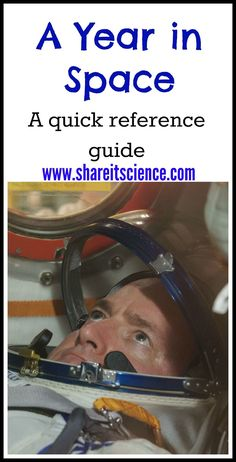Share it! Science News : A Year in Space. The nuts and bolts of NASA astronaut Scott Kelly's mission written for kids, teachers and families! Stem For Kids, Science Activities For Kids, Stem Science, Easy Science, Science Resources, Science News, Science Experiments Kids, Science Classroom, Steam Activities