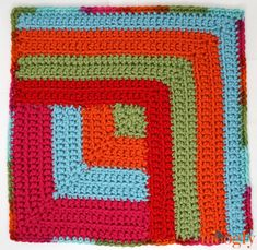 Moogly CAL 2018 Block 24 is here - and it's the last one for the year! Thank you to Linda Dean for designing our final square - read on for the link, and the final date for this year! Crochet Block Stitch, Crochet Blocks, Moogly Crochet, Diy Crochet, Crochet Squares Afghan, Granny Squares, Red Heart Patterns, Crochet Motif Patterns, Red Heart Yarn