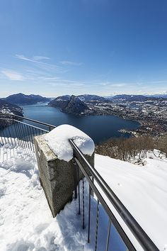 Lugano dal Monte Brè