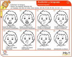 El Blog de Eva: febrero 2013 Occupational Therapy, Speech Therapy, Apraxia, Oral Motor, Blog, Words, Coffer, Speech Therapy Activities, Preschool Speech Therapy