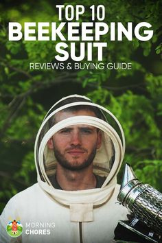 When working with bees as a beekeeper, you need the best beekeeping suit that is comfortable and secure from stings. Read our reviews before purchasing.